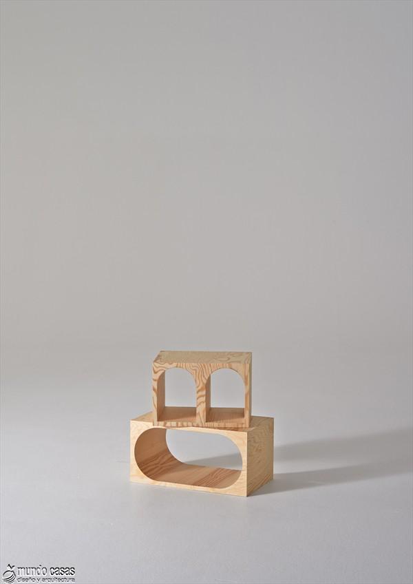 Estantería armable y desarmable con acabados en plywood de origen sueco (8)