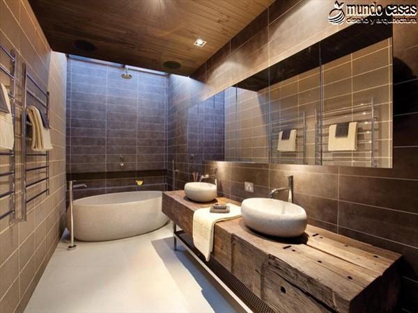 Moderniza tu privacidad con estas 27 ideas y diseños de decoración de baños (13)