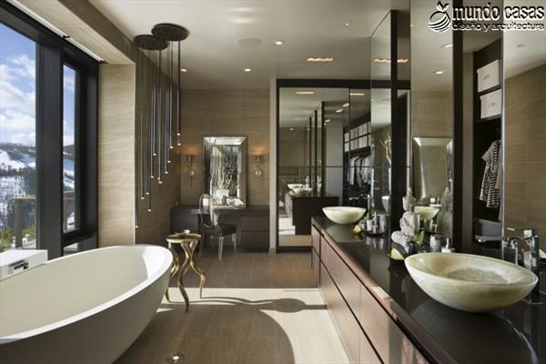 Moderniza tu privacidad con estas 27 ideas y diseños de decoración de baños (14)