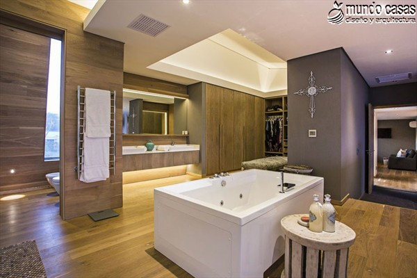 Moderniza tu privacidad con estas 27 ideas y diseños de decoración de baños (15)