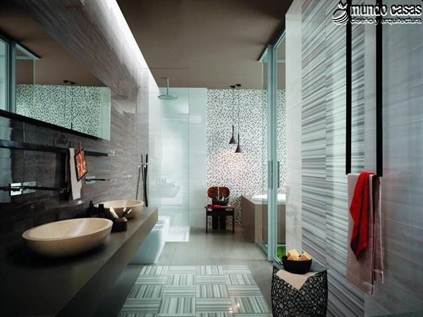 Moderniza tu privacidad con estas 27 ideas y diseños de decoración de baños (16)