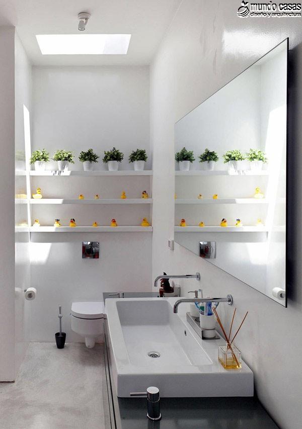Moderniza tu privacidad con estas 27 ideas y diseños de decoración de baños (2)