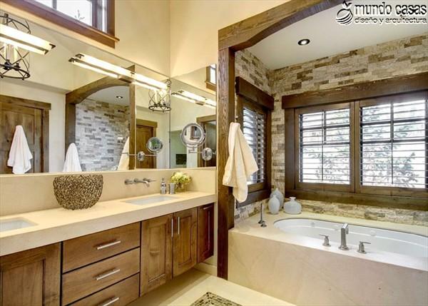 Moderniza tu privacidad con estas 27 ideas y diseños de decoración de baños (26)