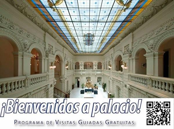 Palacios de madrid ahora es posible visitarlos en Bienvenidos a palacio QR code