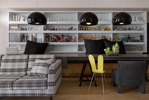 Apartamento ambientado con estilo de cibercafetería juvenil taiwanesa
