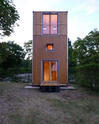 La Homebox. Construcciones de mas de un nivel en terrenos diminutos