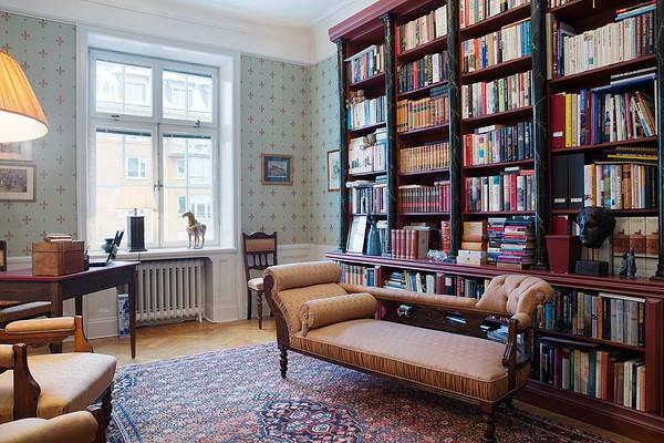 30 modelos de bibliotecas personales