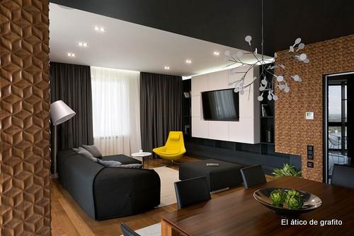 Interiores de penthouse ubicado en Kiev (13)