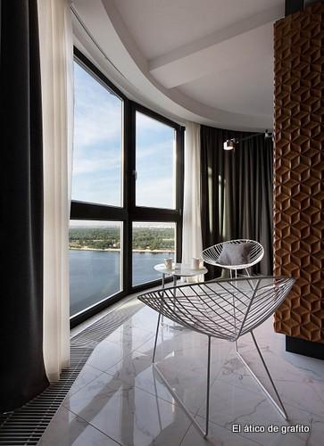 Interiores de penthouse ubicado en Kiev (21)