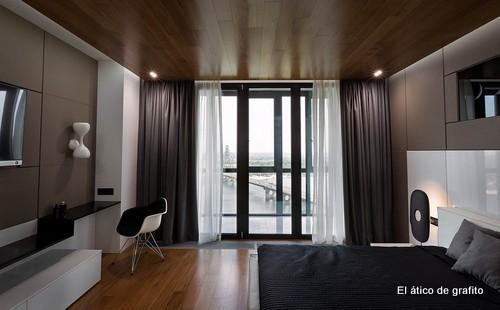 Interiores de penthouse ubicado en Kiev (23)