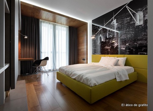 Interiores de penthouse ubicado en Kiev (5)