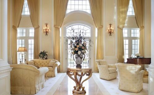Interiores monocromáticos