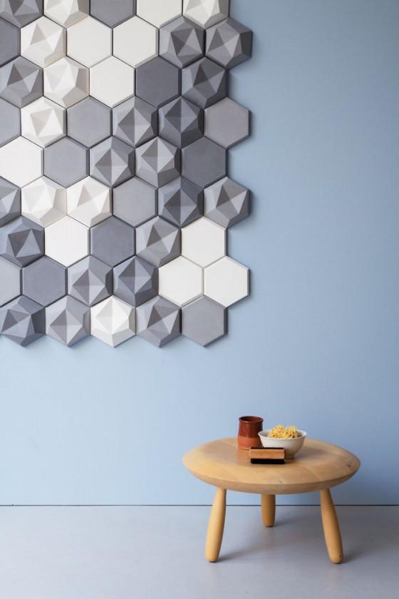 Azulejos de concreto hexagonales (3)