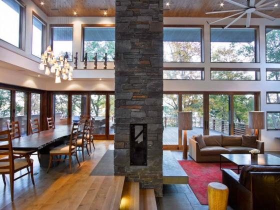 Una excelente vista por dentro de la casa