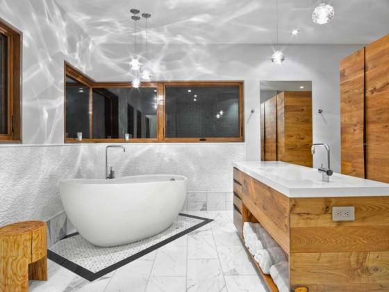 El lujoso baño