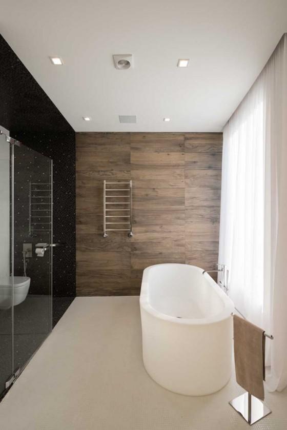 bañera lujosa
