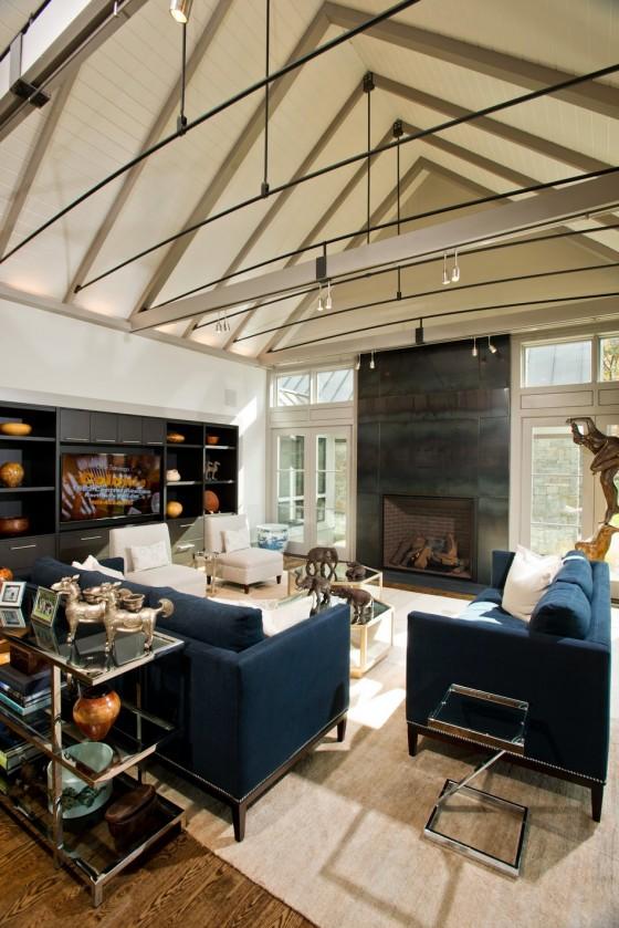 El diseño interior es espectacular y moderno
