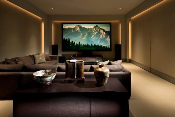 Una sala para descansar y entretenerse
