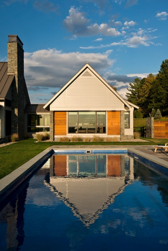 Una piscina espectacular
