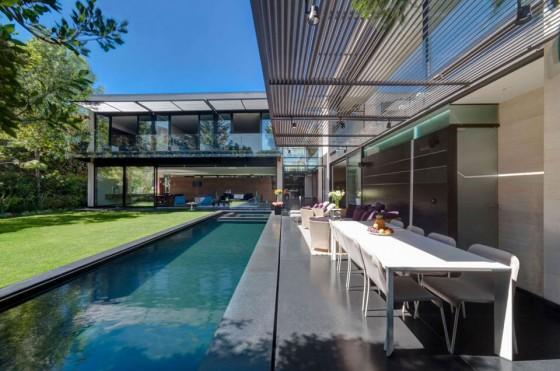 piscina para relajarse