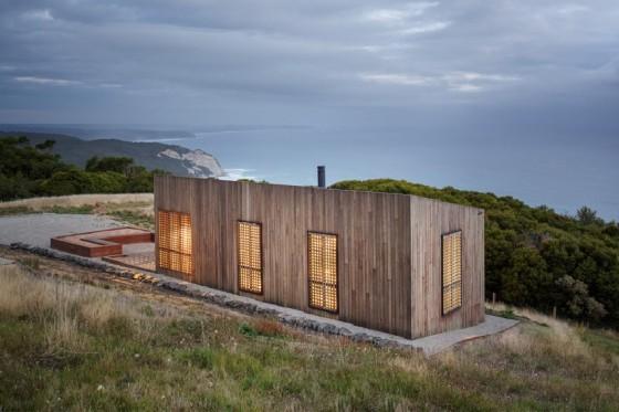 La casa con una vista al mar