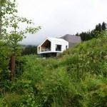 Proyecto Mountain View House: residencia moderna con vista hacia los Alpes austriacos