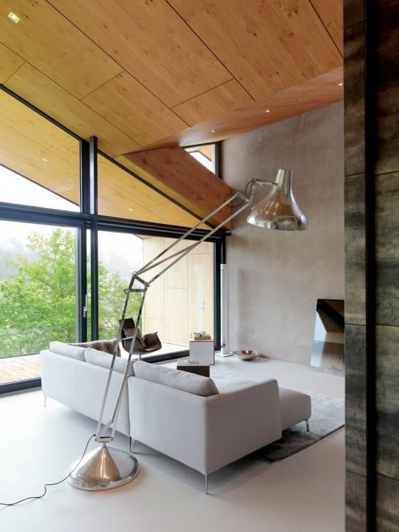 La madera es la principal en la casa