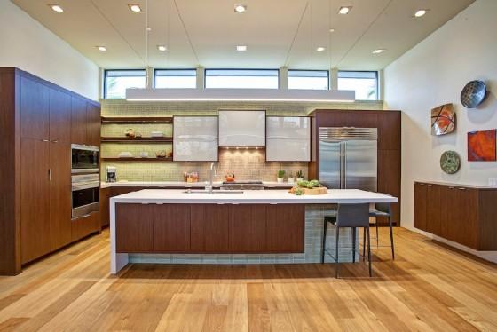 Una moderna cocina