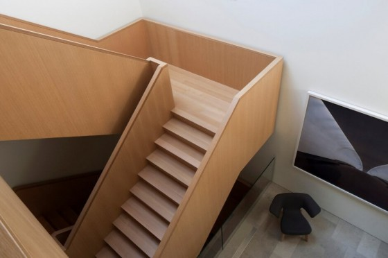 la escalera es bonita