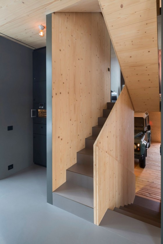 escaleras modernas y de madera minimalistas