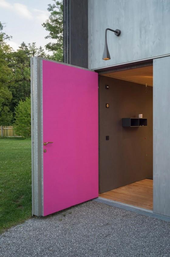una puerta exacta para la casa