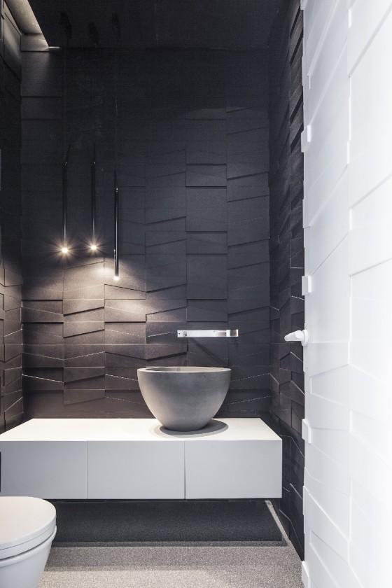 increíble baño moderno y único