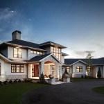 Lo tradicional se encuentra ahora en la moderna y sofisticada residencia en la ciudad de Michigan