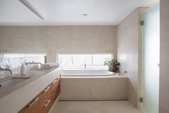 bonita decoración del baño