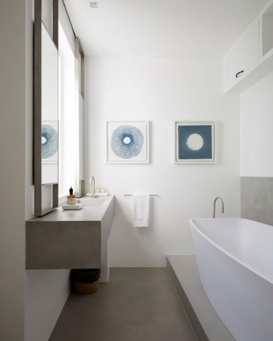 Baño muy moderno y renovado