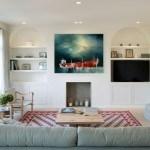 Ecléctico apartamento en la ciudad de Londres  que se inspira en los diseños de las casas griegas