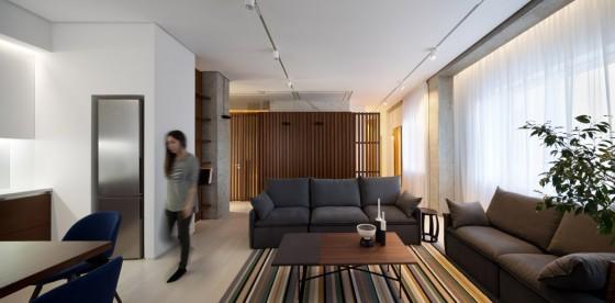 todo es moderno en este apartamento