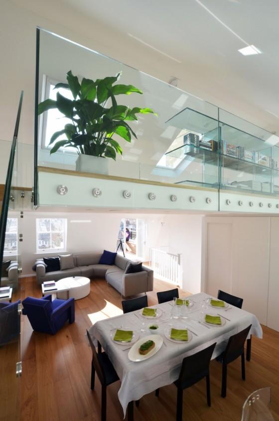 moderno y lujoso espacio abierto