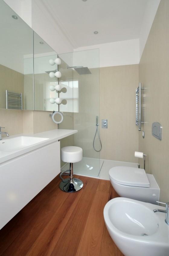 emotivo y moderno baño