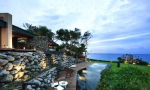 Dos Paisajes Perfectamente Combinados en esta Casa Ecológica junto al Mar Taiwanés